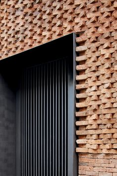 always loved brick facades. The depth of the facade and the rectangular gain always loved brick facades. The depth of the facade and the rectangular windows look great. I bet the architect enjoyed Sanaa Architecture, Le Corbusier Architecture, Architecture Design, Hospital Architecture, Plans Architecture, Concept Architecture, Architecture Tattoo, Japanese Architecture, Architecture Student