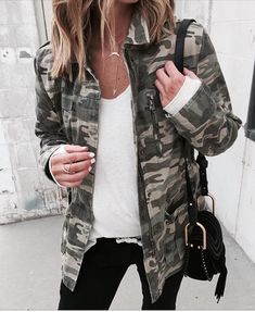 Have a jacket similar to this, cute look!