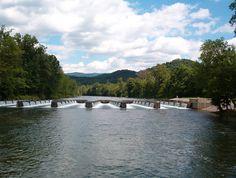 LOVE this place! The Weir Dam - South Holston Lake, Bristol, TN