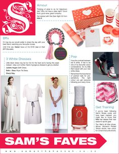 www.samanthahannah.com Velentine Day, Your Best Friend, Healthy Lifestyle, Stylish, Fashion, Moda, Valentines Day, Fashion Styles, Valantine Day