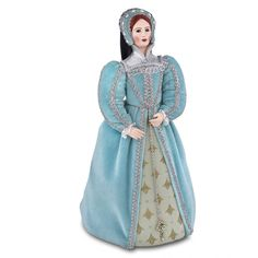 327efcb74d This beautiful collectable doll is individually sculpted in porcelain in the  UK and is dressed in historically inspired costume.