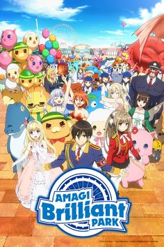 A mysterious but pretty transfer student, Sento Isuzu, asks Kanie Seiya out on a date to an amusement park. That park was Amagi Brilliant Park, featuring worn-down attractions and lackluster service -- the worst in Japan.