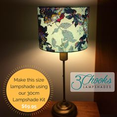 Learn how to make lampshades with this fun and easy kit. Available in a range of sizes - create table lamps, bedside lamps, hanging pendants. Lampshade Kits, Make A Lampshade, Lampshades, Hanging Pendants, Bedside Lamp, Drum, Table Lamp, Create, How To Make