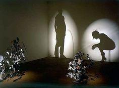 """arq.ramonpadilla: Reciclemos en Arquitectura: """"Arte de Sombra"""" creado con Chatarra.- Tim Noble y Sue Webster"""
