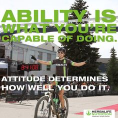 #Attitude - Change 'it's impossible' to 'I can' and before long you'll be saying 'I did'.🏃💪