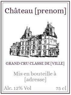 Etiquette Vintage, Vintage Wine, Paris, Label Design, Vintage Images, Clip Art, Mauve, Packaging, Montages
