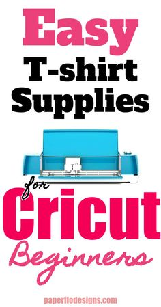 Easy T-Shirt Supplies for Cricut Beginners. Want an easy way to get started making t-shirts at home? Here is a list of the basic supplies you need to DIY heat transfer vinyl t-shirts. Cricut Heat Transfer Vinyl, Cricut Vinyl, Cricut Craft, Circuit Projects, Vinyl Projects, Cricut Tutorials, Cricut Ideas, Wood Craft Patterns, Design Home App