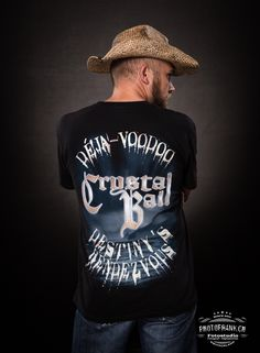 "T-Shirt ""Déjà-Voodoo"" Cover #crystalball #crystalballrocks #merch #merchandise #bandmerch #tshirt #tshirts #bandshirt #black #metal #hardrock #heavymetal #model #dejavoodoo #limited #edition #tattoo #balls #logo #photofrank Band Merch, Band Shirts, Black Metal, Heavy Metal, Cover Band, Crystal Ball, Voodoo, Hard Rock, Balls"