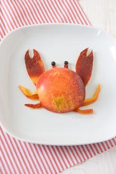 Nectarine crab