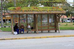 Pontos de ônibus de Garopaba são destaque em revista do segmento industrial - Foto 2