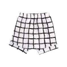 Baby Boy/Boy's Plaid White Cotton Shorts/Bottom, 40% discount @ PatPat Mom Baby Shopping App