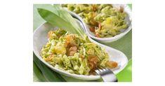 Kässspätzle mit Bärlauch, ein Rezept der Kategorie Beilagen. Mehr Thermomix ® Rezepte auf www.rezeptwelt.de