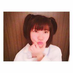 ほら今回もやってしまった #ツインテール https://instagram.com/p/BesaQBlHZDc/ #Team8 #AKB48 #Instagram #InstaUpdate