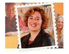 """20 maart 2014 - Vandaag: de Dag van de Leerplicht. Collega Annelies: """"Niet elk kind krijgt  dezelfde kansen op school. Ik maak me hard voor het vergroten van kansen voor kinderen, zowel hier als in ontwikkelingslanden"""". (www.kinderpostzegels.nl/elkedag)"""