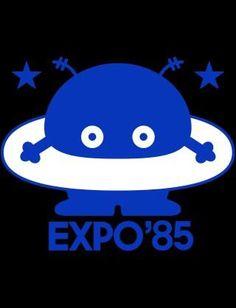 つくば万博 Showa Period, Cartoon Characters, Pop Culture, Pop Art, Illustration Art, Childhood, Japan, Memories, Graphic Design