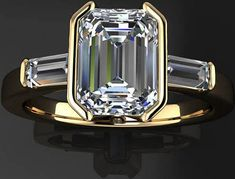 Contact Dubai City Company We are Waiting for Expats. If you would like to contact hiring company in the United Arab Emirates. Emerald Cut Diamonds, Diamond Cuts, Diamond Rings, Bridal Rings, Wedding Ring Bands, Stylish Jewelry, Fine Jewelry, Bling Bling, Fashion Rings