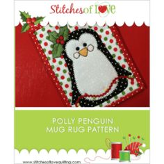 PDF Download Mug Rug Patterns Archives - Page 2 of 4 - Stitches of Love