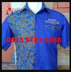 Model Seragam Kemeja Batik Lengan Pendek Seragam Batik Kemeja