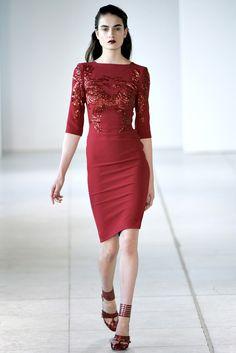 Antonio Berardi Spring 2012 Ready-to-Wear Fashion Show - Pauline van der Cruysse