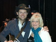 Kim met Chance McCoy of Old Crow Medicine show at the 2014 ABA in Nashville!