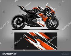 Bike Stickers, Honda Bikes, Custom Wraps, Sportbikes, Racing Motorcycles, Kawasaki Ninja, Car Wrap, Custom Bikes, Vector Design