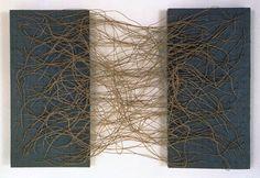 Eva Hesse, Metronomic Irregularity I, 1966.