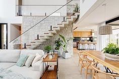 Sweet Home, Mediterranean Style, New Homes, Stairs, House, Living Room, Studio, Kitchen, Inspiration