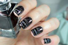 Graphic stamping / nail art