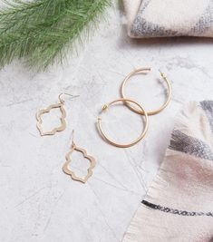 Affordable Fashion Earrings at HandPicked