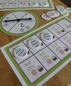 Easter Bunny Math Activities for preschool, pre-k, kindergarten.  Kids can practice a variety of math skills with this cute bunny ten frame activity set.  From counting practice, to numeral recognition, one-to-one correspondence, addition, subtraction, and number composition and decomposition; this bunny themed math set is packed with ideas for hands-on math learning.