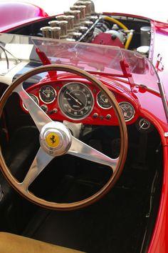 "1957 Ferrari Testa Rossa 250 TR ""Prototipo"" by Marshall Autry. (par Vintage Racer)"