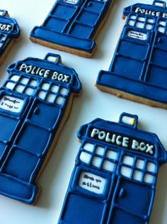 Twitter / geeksweettweets: PS, Tardis cookies: ...