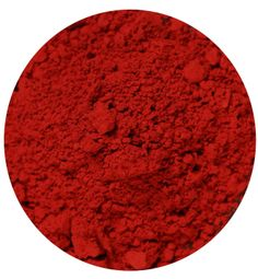 Vermilion pigment, made from cinnabar. This was the pigment used in the murals of Pompeii and to color Chinese lacquerware beginning in the Song Dynasty. Fresco, Vermilion Red, Tertiary Color, Color Unit, I See Red, Copper Red, World Of Color, Nature Paintings, Colors