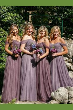 Outlet Comely Plus Size Bridesmaid Dresses Off The Shoulder Fitted Tulle  Long Bridesmaid Dresses Plus Size Mother Of Bride Dress 66b0c3856c02