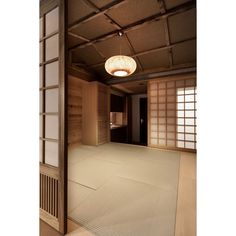 Modern Japanese House ❤ liked on Polyvore featuring rooms, empty rooms, interior and orient