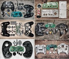 Video Game Controllers Deconstructed