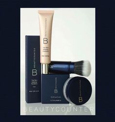 Beautycounter Tint skin. Game changing lightweight, buildable, creamy foundation that cares for your skin. Goes on seamlessly and blends effortlessly to cover imperfections and even skin tone. For a sheer makeup look , apply with our retractable Complexion Coverage Brush.  www.beautycounter.com/corrinepaul