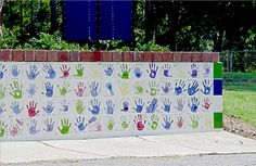 Fundraising wall.  Want to create a beautiful work of art to commemorate your fundraising effort? Tile wall fundraisers for schools, churches, communities and other charitable organisations work really well. A tile wall makes a beautiful commemorative class gift that will last for years to come...and could be added onto for years. Ceramic studios will provide the tiles, materials and instruction necessary for your group to paint the tiles.