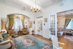Strada PARIS-inchiriere apartament cu ambient art nouveau, pastrand un sarm subtil, parizian.