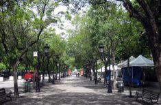Paseo de la Princesa, Old San Juan, Puerto Rico