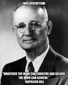 Napoleon Hill in His Own Voice: Rare Recordings of His Lectures.: Napoleon Hill in His Own Voice: Rare Recordings of… Napoleon Hill, Richard Branson, Today Quotes, Success Quotes, Leadership Quotes, Tom Hanks, Steve Jobs, Oprah, Neville Goddard