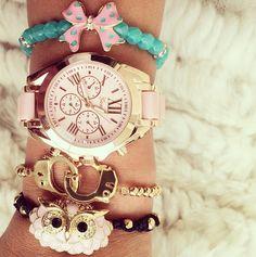 Beautiful sweet owl jewelry set at princesspjewelry.com