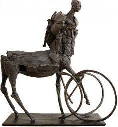 Les Nouvelles Sculpures En M Tal De St Phane Merel 1 Sculpture Sculpture Art Art