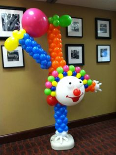 Clown Balloon Decor Idea for any under the big top theme party