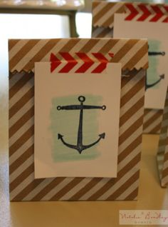 Stampin' Up! Nautical Party | Sea Street Stamps | DIY Stampin' Up! Party |