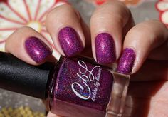 Colors by llarowe Polish of the Month - September 2015 - Talk to the Hand