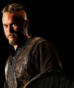 Travis Fimmel as  Ragnar Lothbrok #vikings