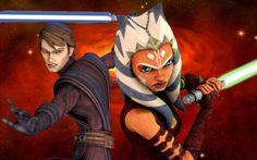 The Clone Wars - Anakin Skywalker and Ahsoka Tano