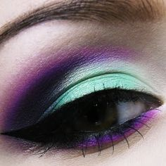 Mint and Violet by Kamila P