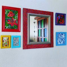 58 ideias de decoração com tecido chita para colorir sua casa Pintura Hippie, Diy Frame, Decoration, Painting Frames, All Design, Diy Home Decor, Decoupage, Sweet Home, Diy Projects